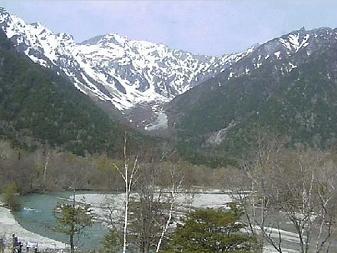 上高地ホテル白樺荘のライブカメラ