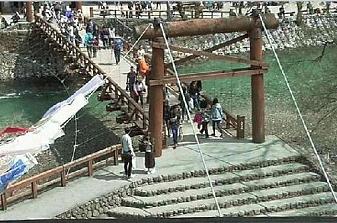 上高地ホテル白樺荘河童橋のライブカメラ