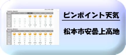 上高地の天気
