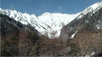 西穂高岳ライブカメラ