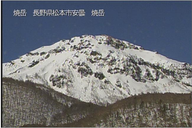 焼岳ライブカメラ