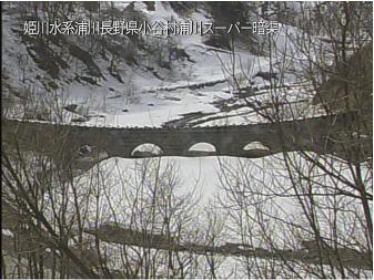 小谷村浦川のライブカメラ2