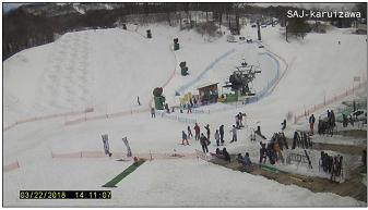 軽井沢スキー学校のライブカメラ