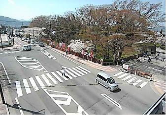 上田城千本桜入口のライブカメラ2