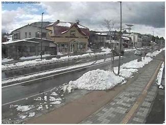 軽井沢駅北口駅前通り、アーバンデザイン前のライブカメラ
