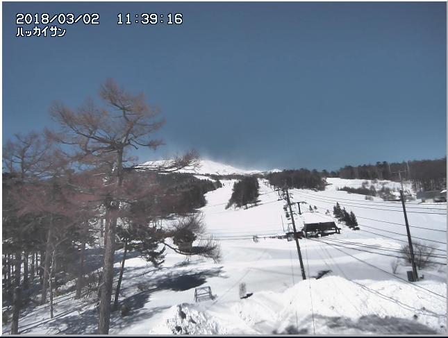 八海山のライブカメラ