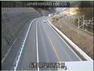 贄川駅ライブカメラ