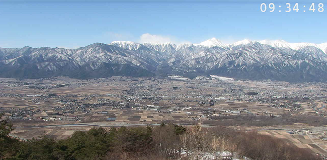 長峰山頂ライブカメラ