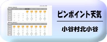 小谷村天気
