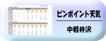 中軽井沢の天気