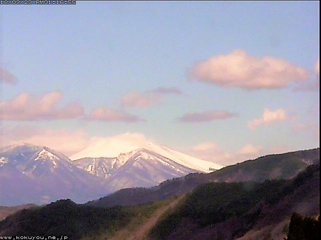 和田庁舎から見た浅間山のライブカメラ