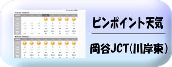 岡谷JCT天気