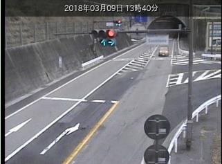 上松第3トンネルのライブカメラ