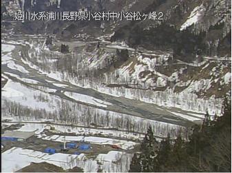小谷村浦川のライブカメラ