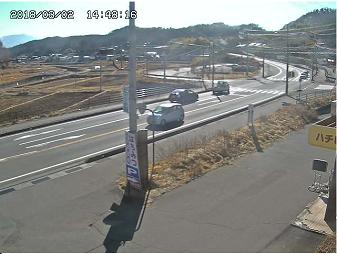 望月布施温泉入口交差点のライブカメラ