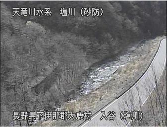 入谷(塩川)のライブカメラ支川