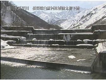 白馬村平川のライブカメラ