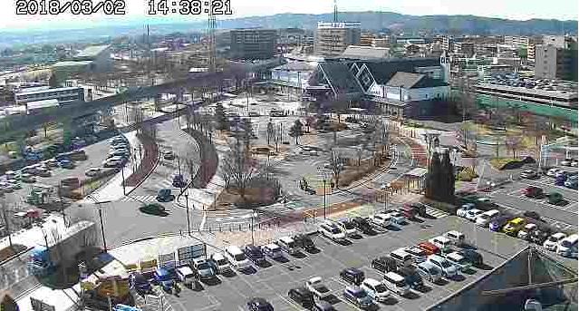 佐久平駅のライブカメラ