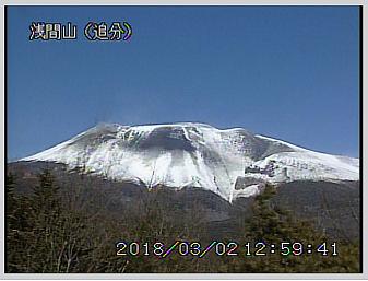 浅間山のライブカメラ