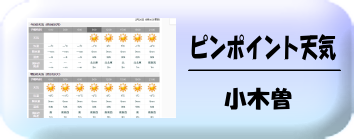 小木曽の天気