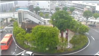上田駅前ロータリーのライブカメラ