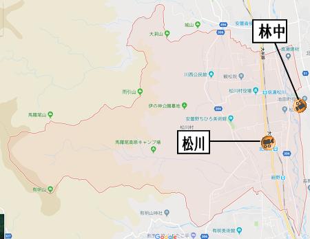 松川村地図