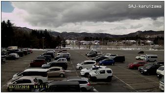 軽井沢スキー学校のライブカメラ2