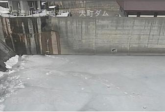 大町市大町ダムのライブカメラ2