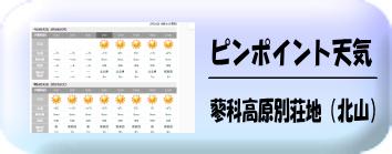 蓼科高原別荘地天気