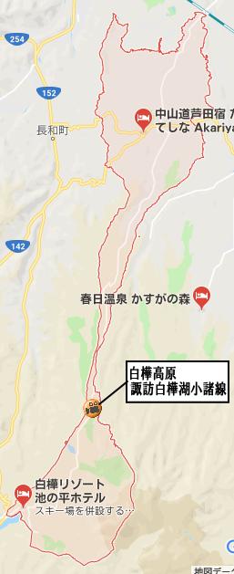 立科町地図