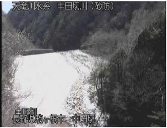中田切川のライブカメラ支川