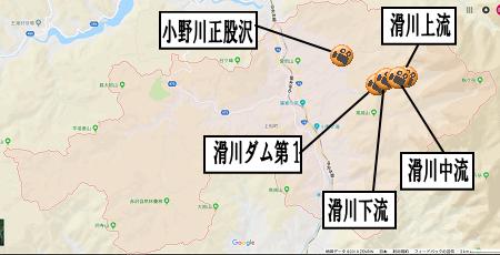 上松町地図