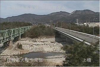 大町市上橋のライブカメラ3