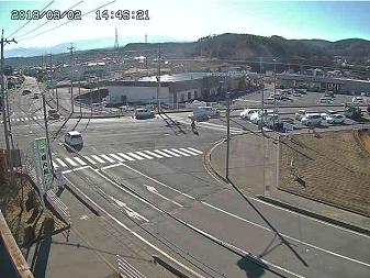 臼田下小田切交差点風景のライブカメラ