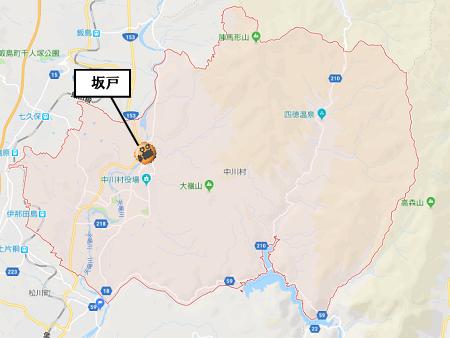 中川村地図ライブカメラ