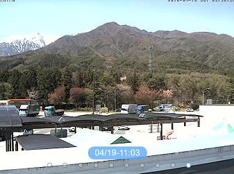 駒ケ岳SAのライブカメラ