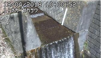 宮田村長坂沢河川のライブカメラ
