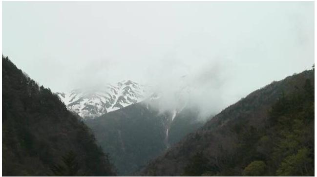 赤石岳ライブカメラ