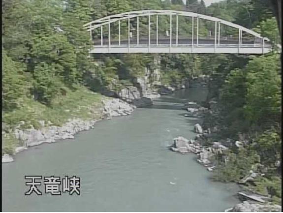 天竜峡姑射橋のライブカメラ