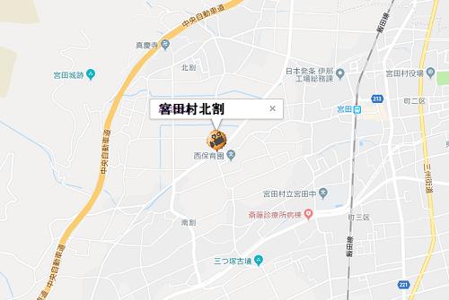 宮田村地図