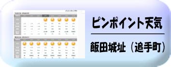 飯田城址天気