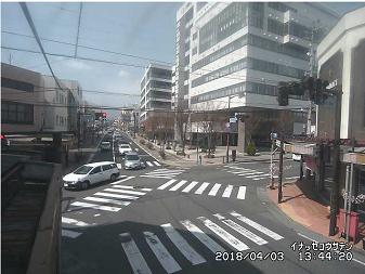 いなっせ前交差点のライブカメラ