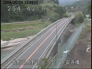 七二会大安寺橋ライブカメラ