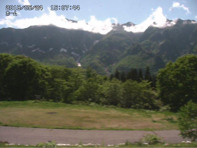 秋山郷 のよさの里ライブカメラ