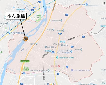 小布施町地図