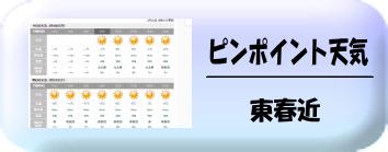 東春近天気