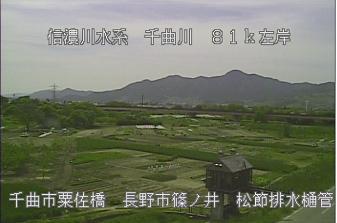粟佐橋(松節排水樋管)ライブカメラ