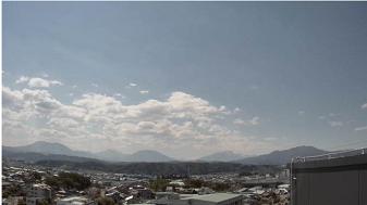 北信五岳(市役所屋上から西向き)ライブカメラ