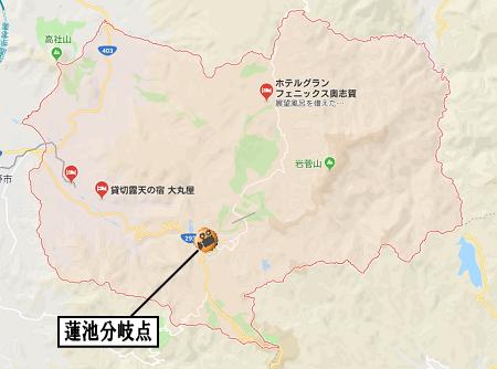 山ノ内町地図