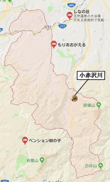 栄村地図河川